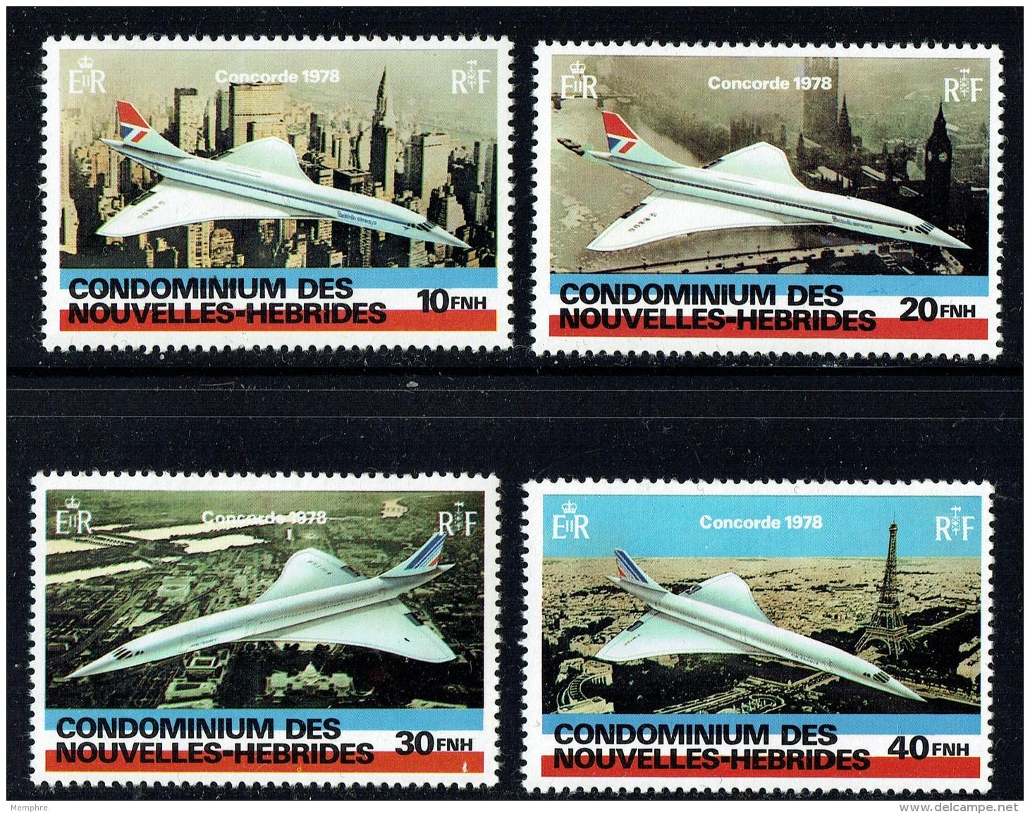 1978  Concorde  Série Complète  ** - Französische Legende