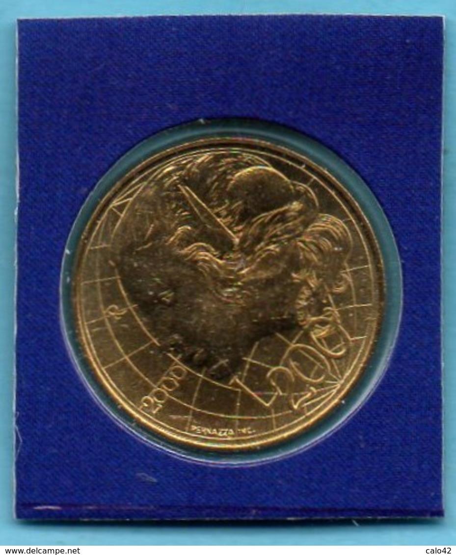 SAN MARINO / SAINT MARIN  200 Lire 2000   FDC Sous Scellée - San Marino