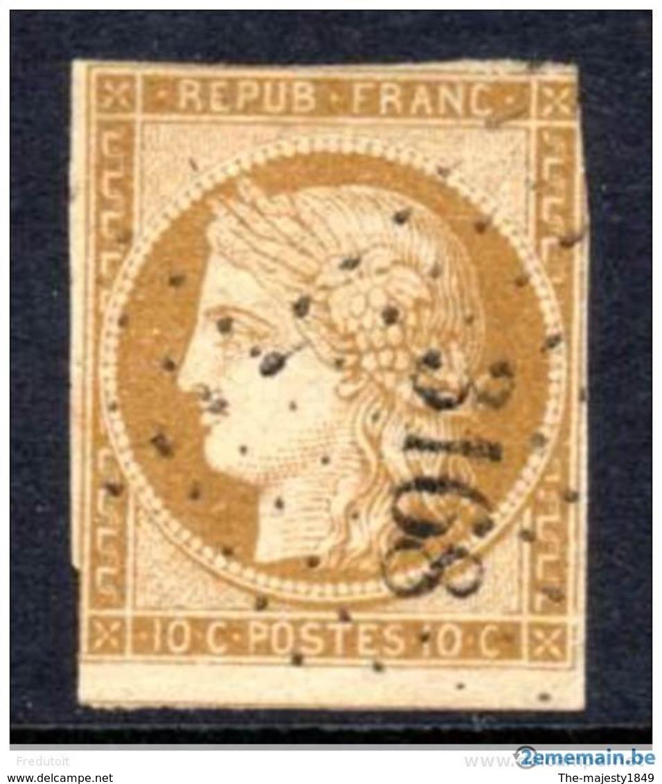 France - N° 1 Oblitéré (1850) - Cote 2017-2018 = 550.00 €/// - 1849-1850 Cérès