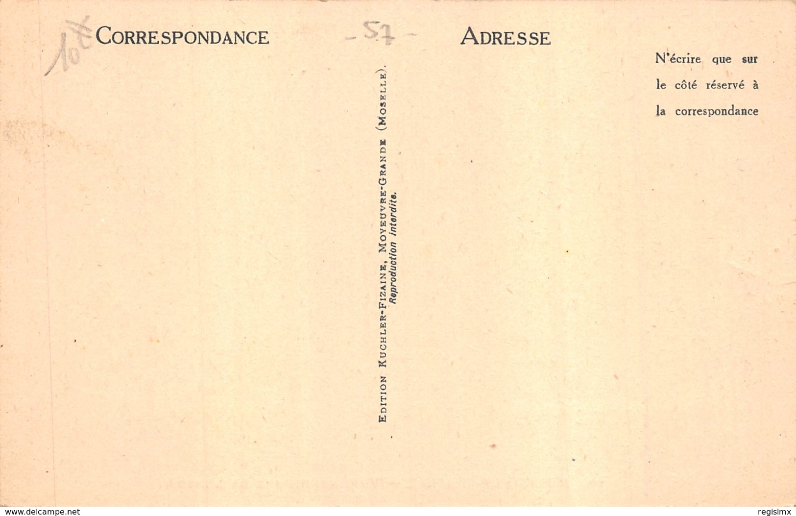 57-MOYEUVRE GRANDE-N°R2155-F/0053 - France