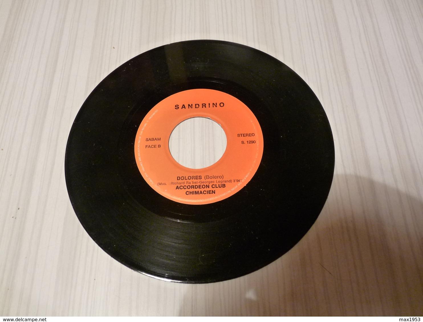 CHIMAY - Accordeonclub Chimacien - VENEZIA-DOLORES - Production Sandrino  S1290 - Vinyles
