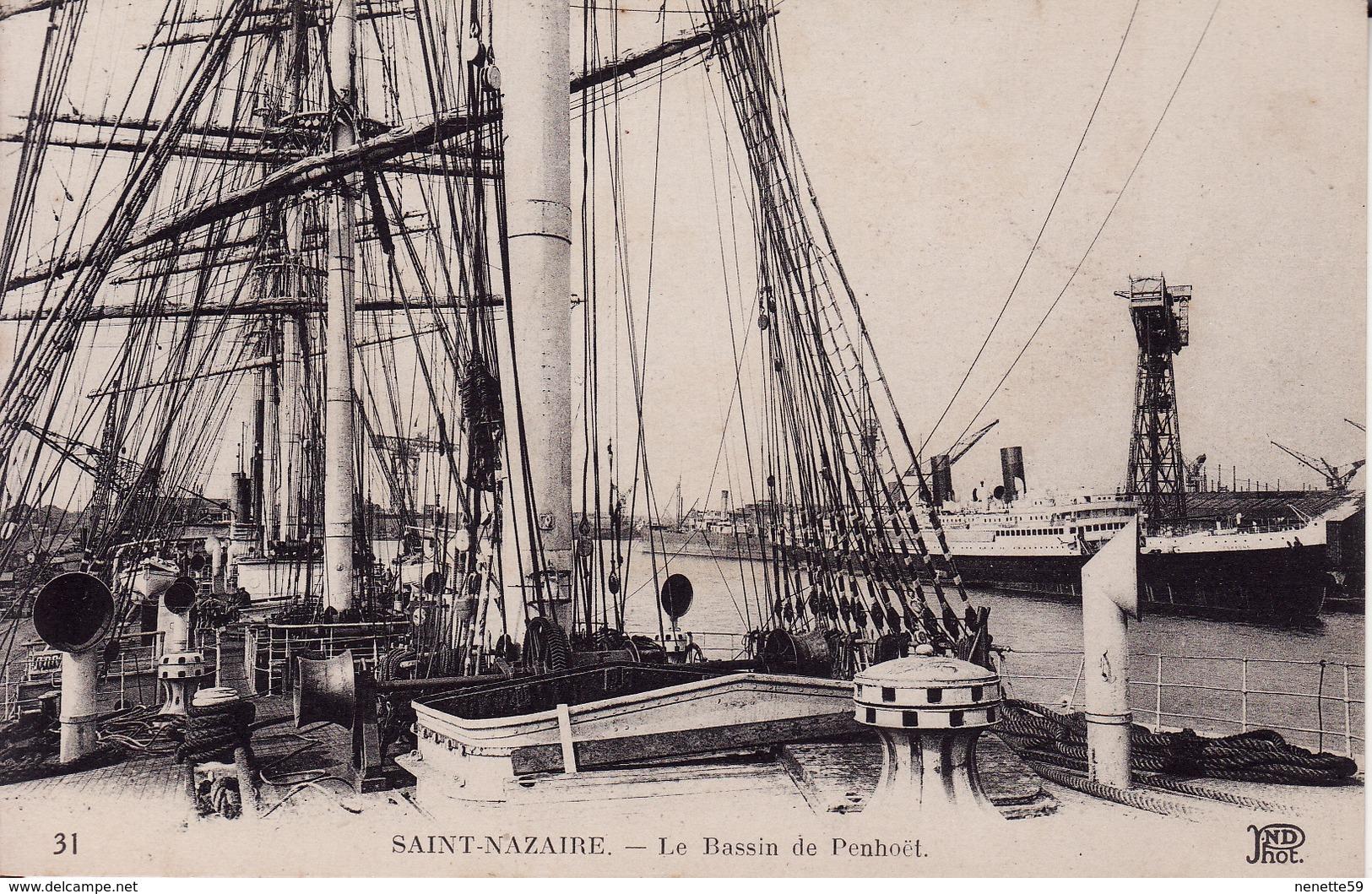 44 SAINT NAZAIRE -- Le Bassin De Penhoët N° 31 - Saint Nazaire
