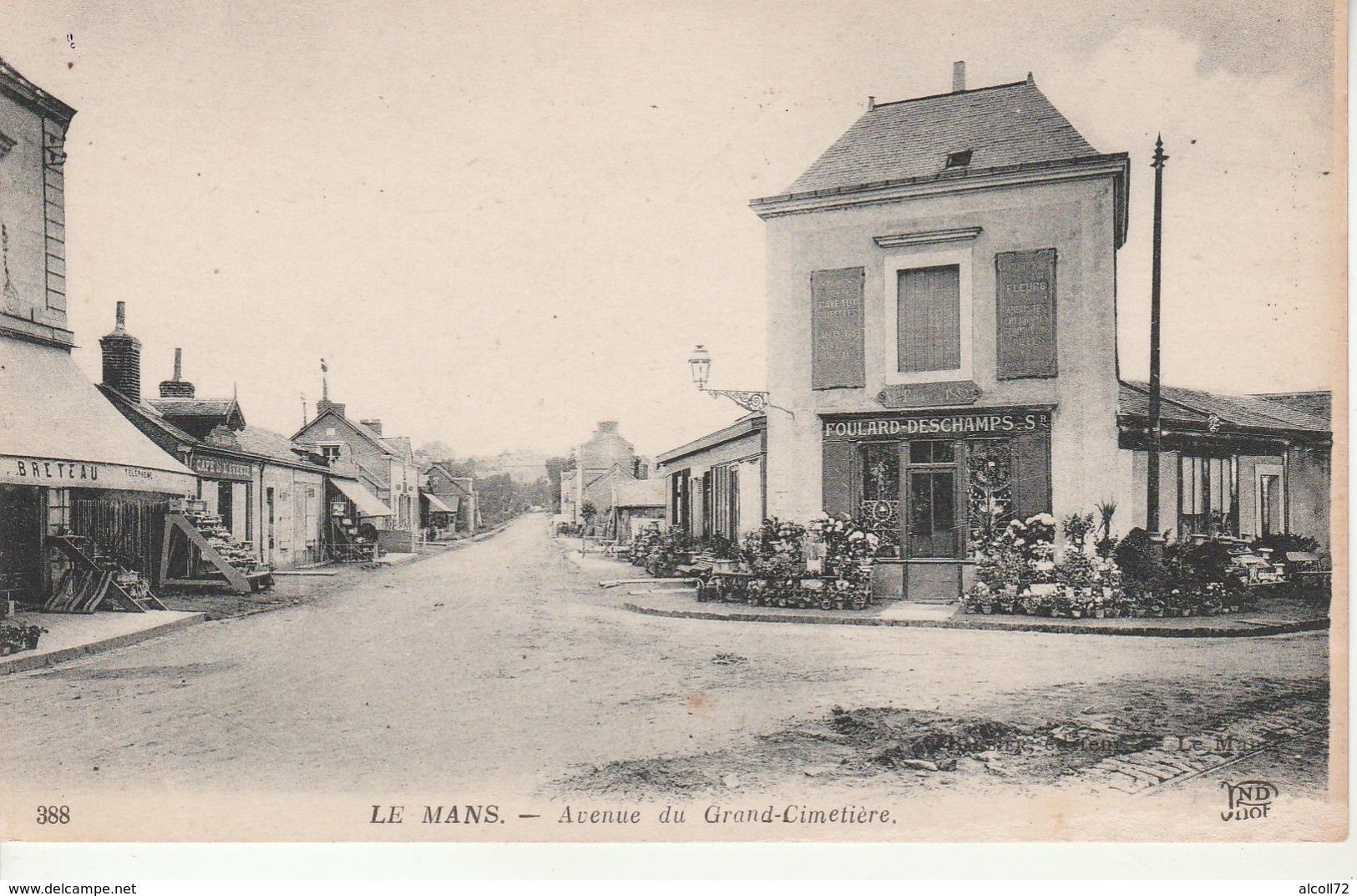 Le Mans-Avenue Du Grand Cimetiere. - Le Mans