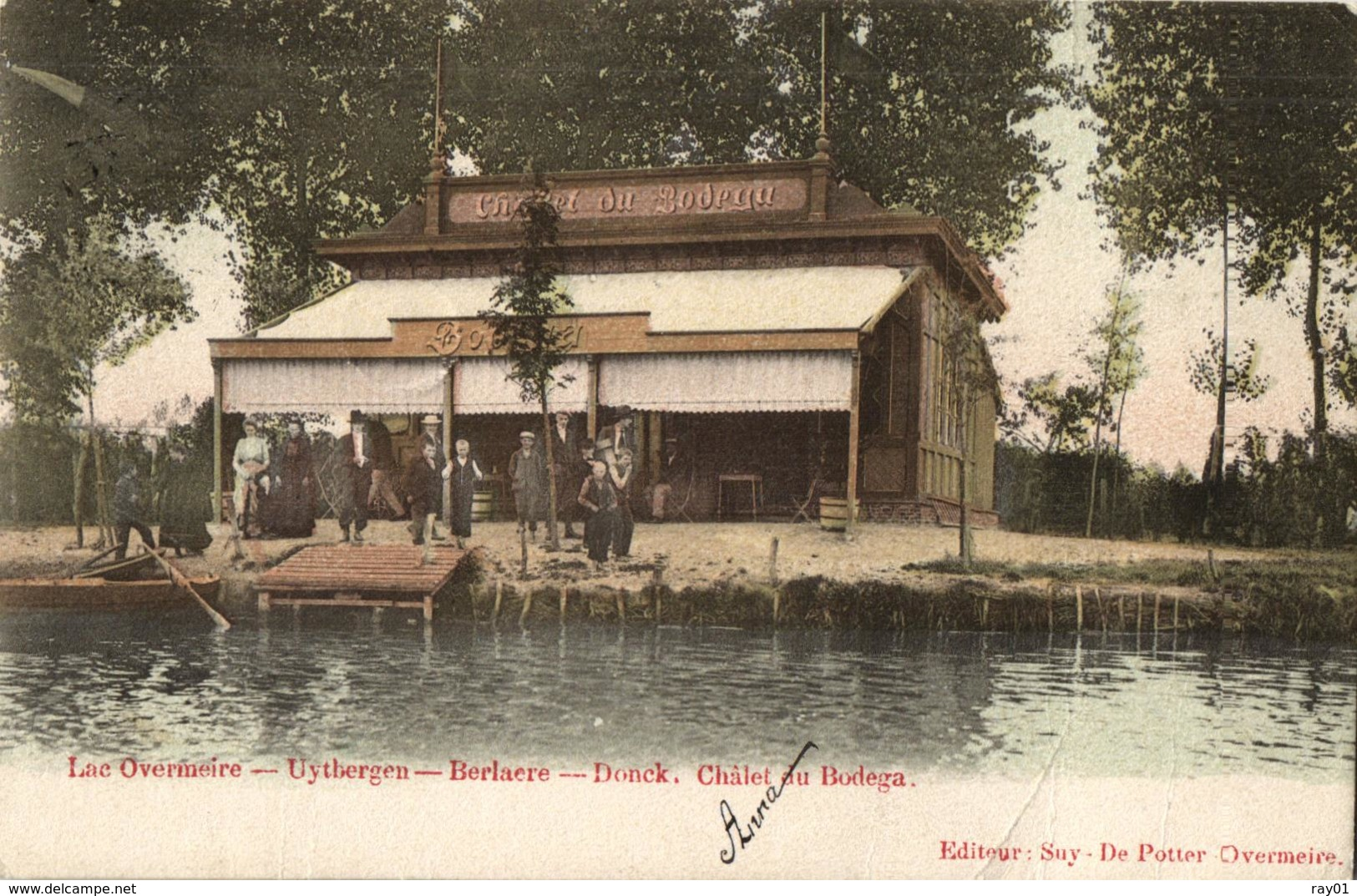 BELGIQUE - FLANDRE ORIENTALE - BERLARE - BERLAERE - OVERMEIRE - OVERMERE - Lac- Chalet Au Bodega. - Berlare