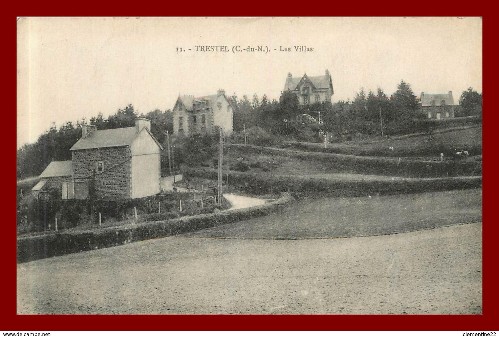Trestel * Les Villas    ( Scan Recto Et Verso ) - Frankreich