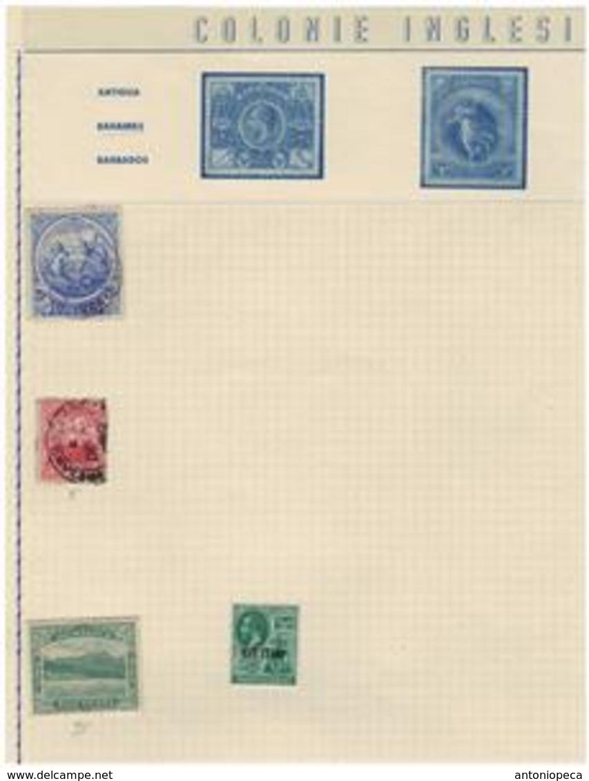 COLONIE INGLESI / AFRICA Collezione Periodo Antico 68v Nuovi TL / Usati - Africa Del Sud-Ovest (1923-1990)