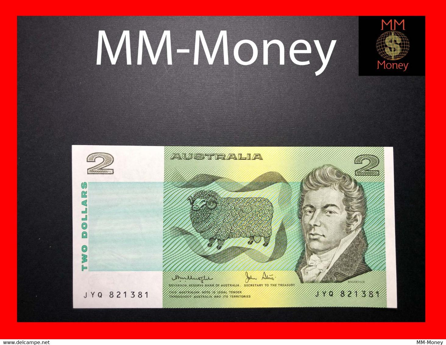 AUSTRALIA 2 $ 1976  P. 43 B - Decimal Government Issues 1966-...