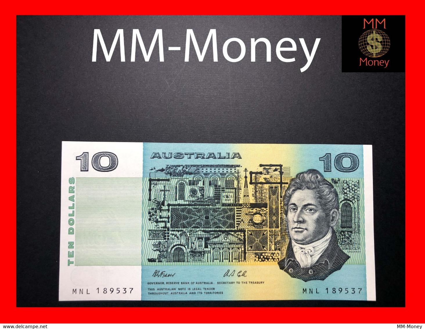 AUSTRALIA 10 $ 1991 P. 45 G  UNC - 1974-94 Australia Reserve Bank (paper Notes)