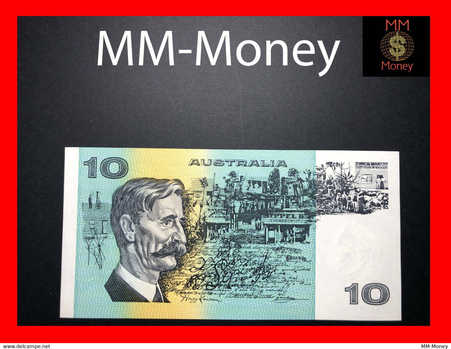 AUSTRALIA 10 $ 1991 P. 45 G  UNC - Decimal Government Issues 1966-...