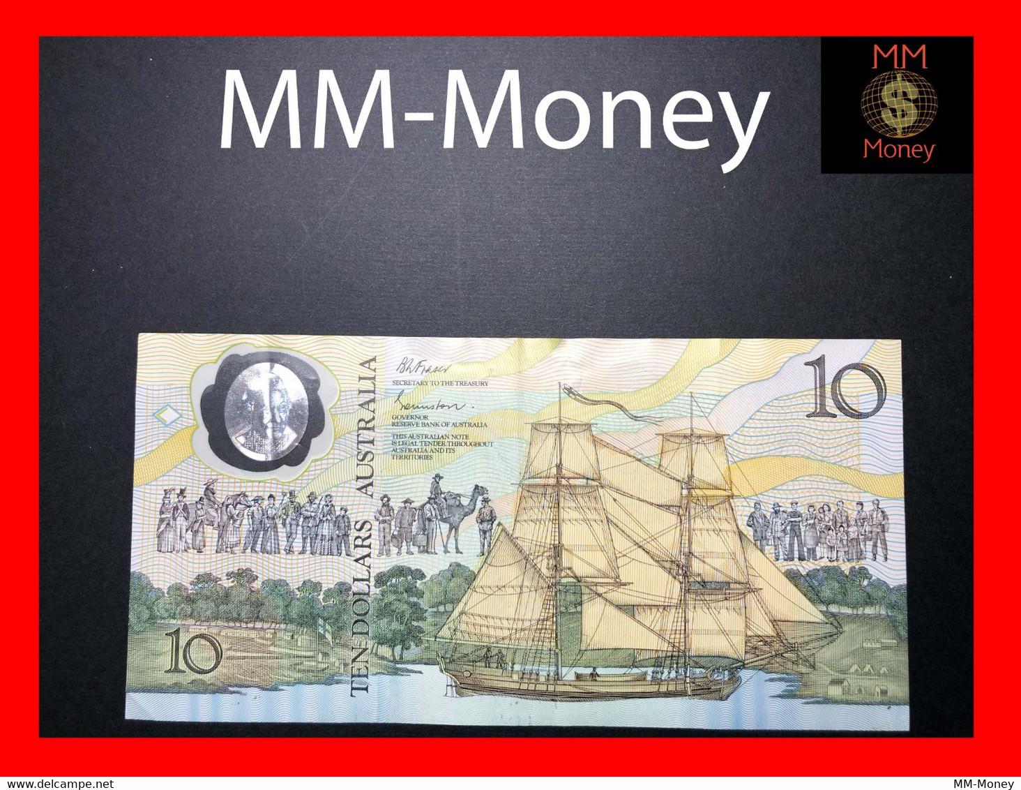 AUSTRALIA 10 $ 1988 P. 49 B  VF - Decimaal Stelsel Overheidsuitgave 1966-...