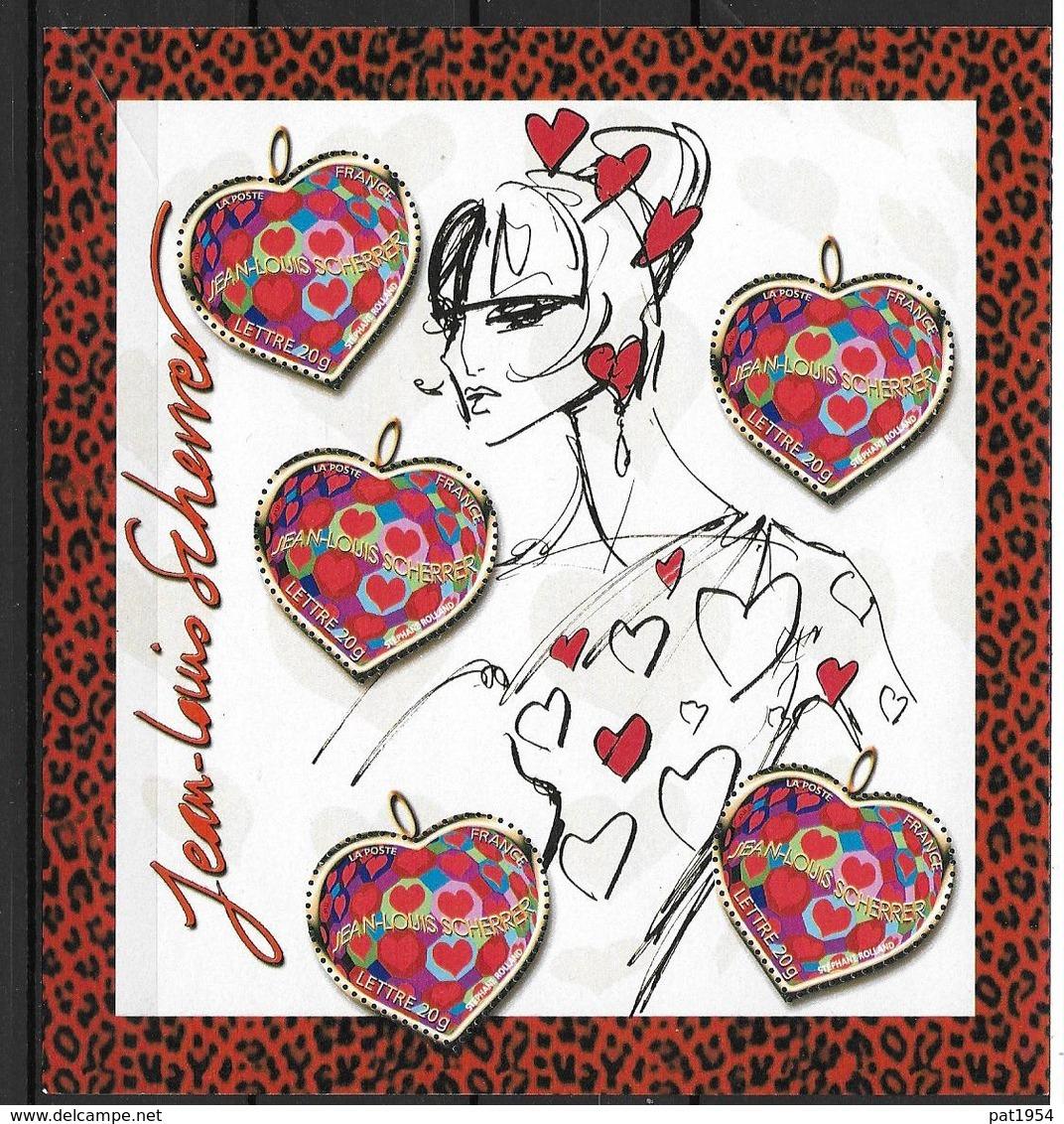France 2006 Bloc Feuillet N° 93 Neuf Saint Valentin Jean Louis Scherrer à La Faciale - Blocs & Feuillets