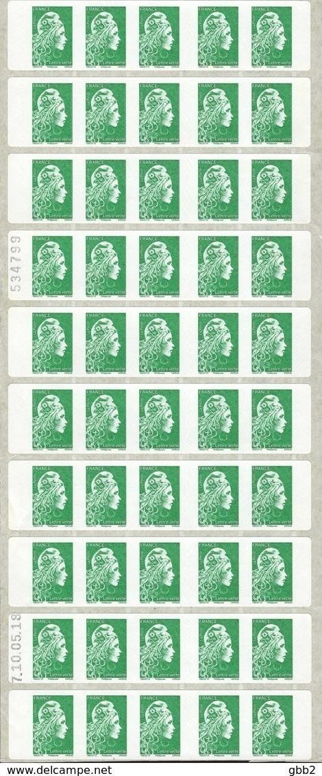 """CARNET Marianne De YSEULT YZ """"RETROUVEZ LA NOUVELLE MARIANNE"""" En Bande De 5 Carnets Daté 10/05/18. PRODUIT A SAISIR. - Carnets"""