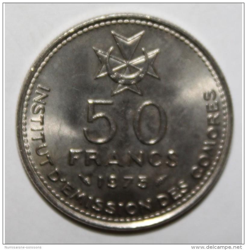 COMORES - KM 9 - 50 FRANCS 1975 - SPL - Komoren