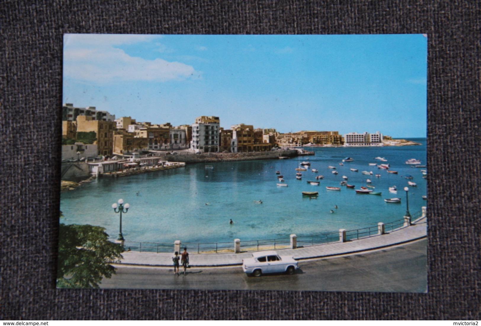 MALTA - Balluta Bay, St Julians. - Malte