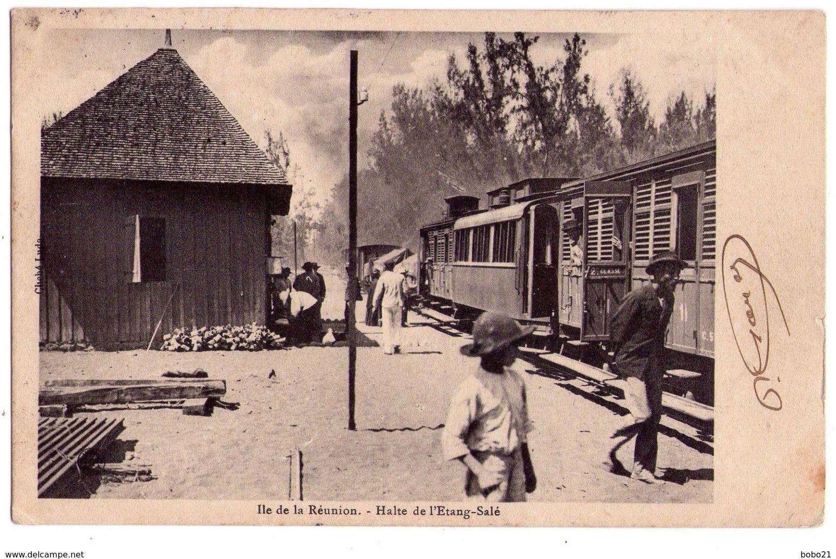 2405 - Ile De La Réunion - Halte De L'étang-salé - Cl. Ludo - - La Réunion