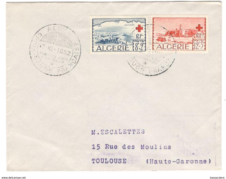 6740 - CROIX ROUGE ALGER - Algeria (1924-1962)