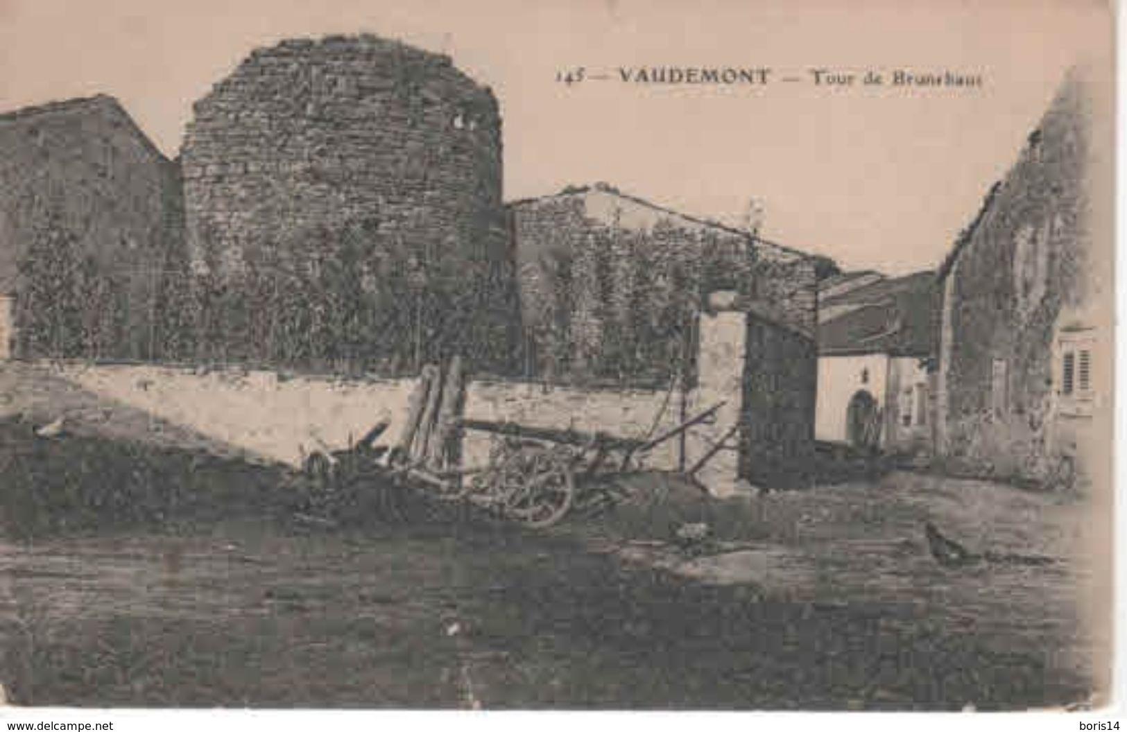 54- 300289  -  VAUDEMONT    -  La Tour - France