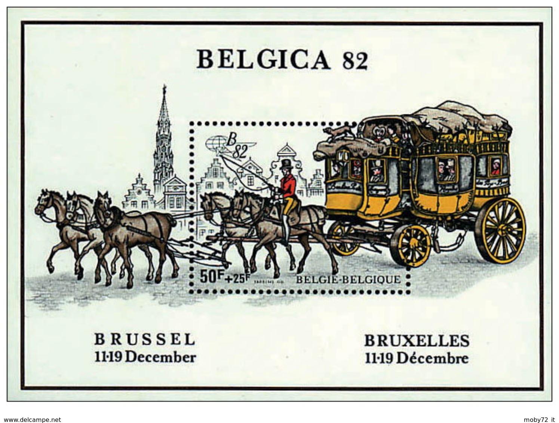 Belgio - 1982 - Nuovo/new MNH - BELGICA - Mi Block 53 - Velletjes