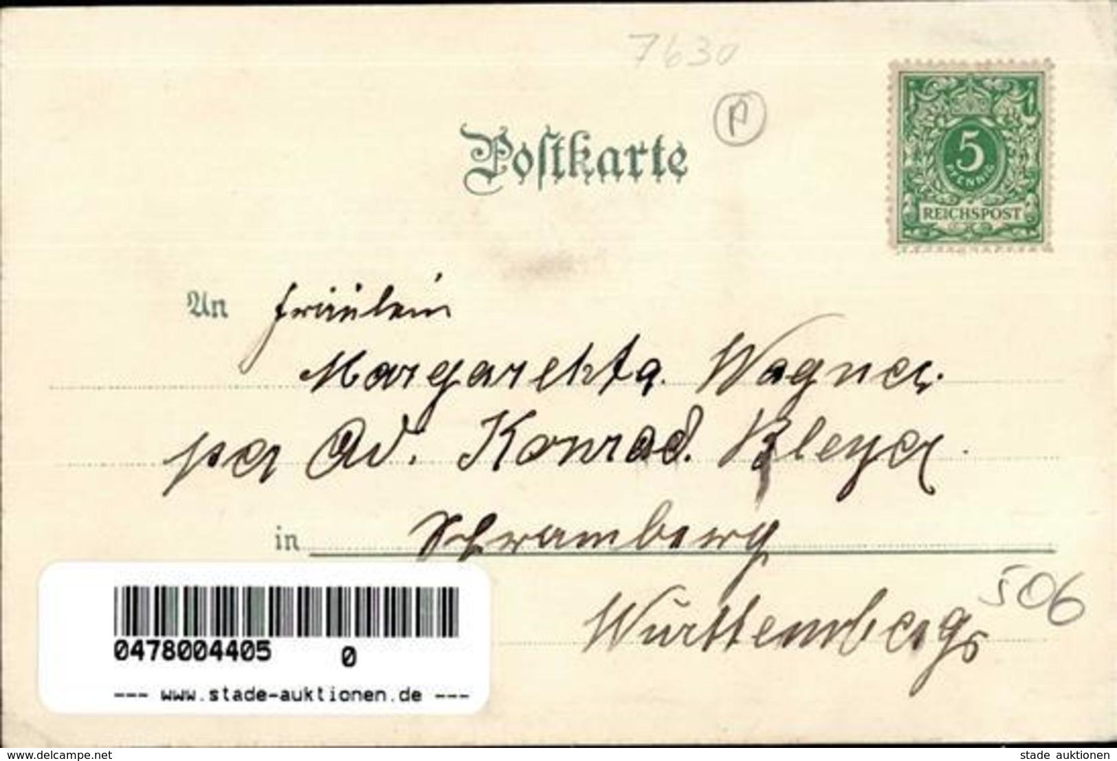 Lahr (7630) Christuskirche Schillerstrasse Kinderheim  Winterlithographie II (kleine Stauchung) - Weltkrieg 1914-18