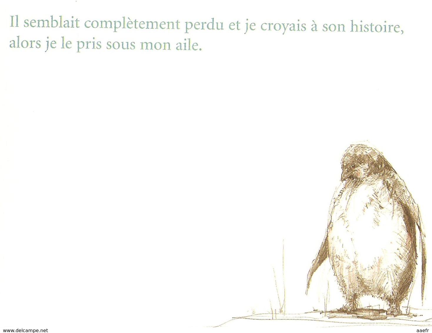 Leçon De Vol - Sebastien Meschenmoser - Edit. Petite Plume De Carotte 2010 - Livre NEUF - Pingouin, Amitié, Entraide - Poésie