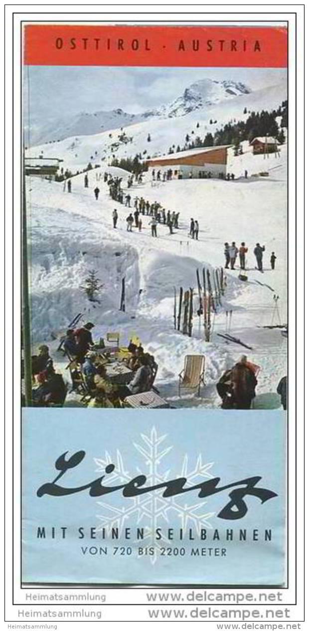 Lienz 60er Jahre - Faltblatt Mit 12 Abbildungen - Oesterreich
