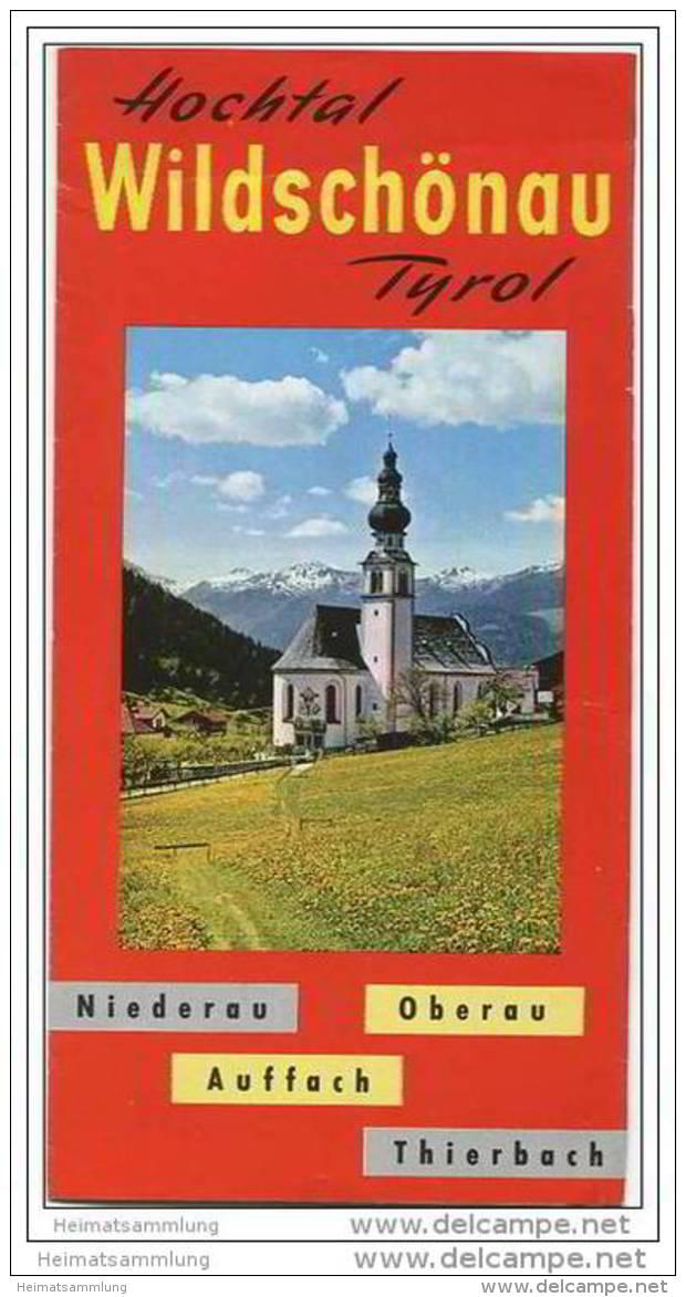 Hochtal Wildschönau - Faltblatt Mit 18 Abbildungen - Oesterreich
