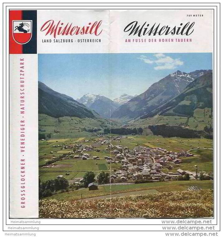 Mittersill 1967 - Faltblatt Mit 11 Abbildungen - Information Und Gaststättenliste - Oesterreich