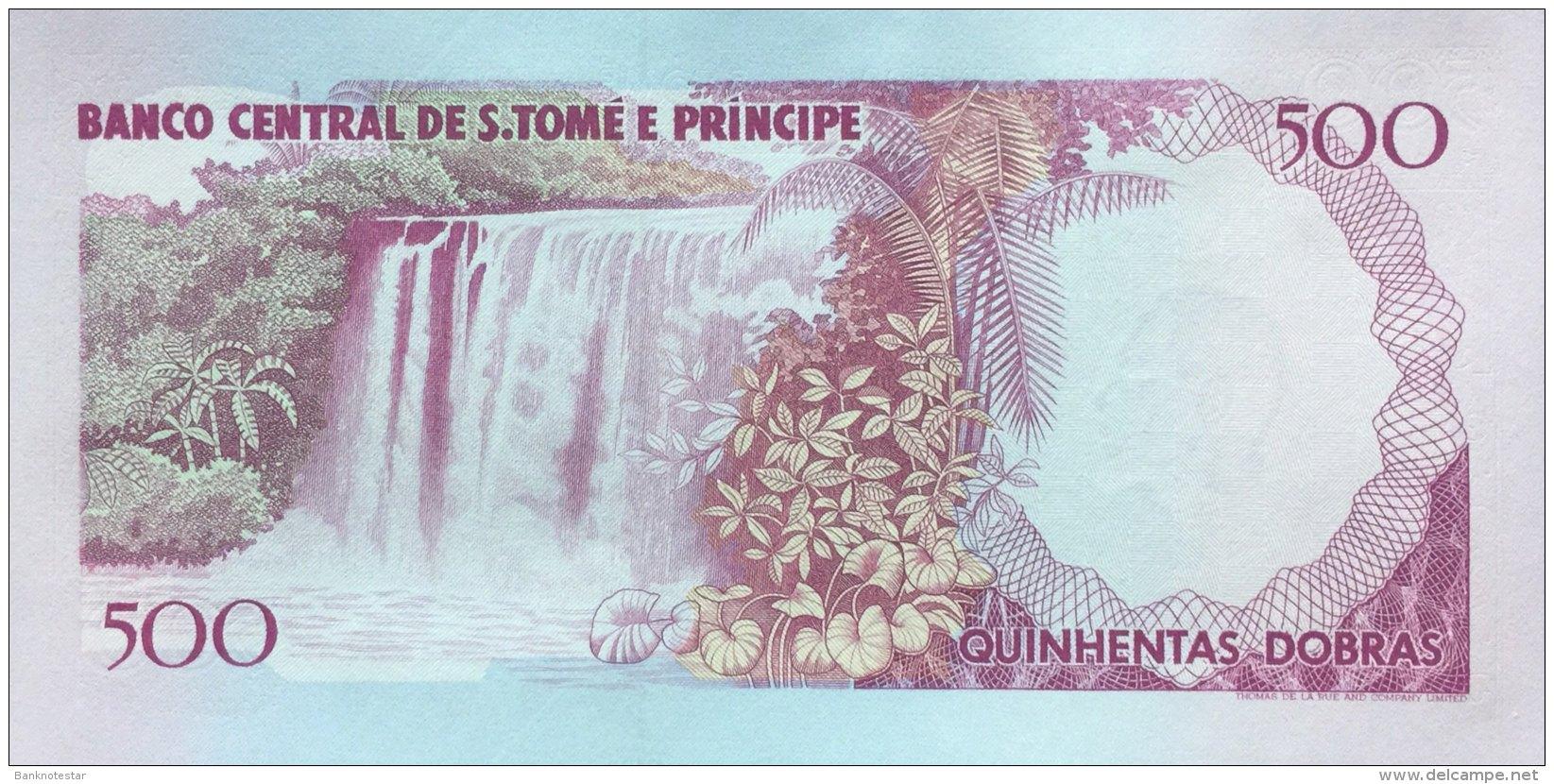 St. Thomas & Prince 500 Dobras, P-63 (1993) - UNC - São Tomé U. Príncipe