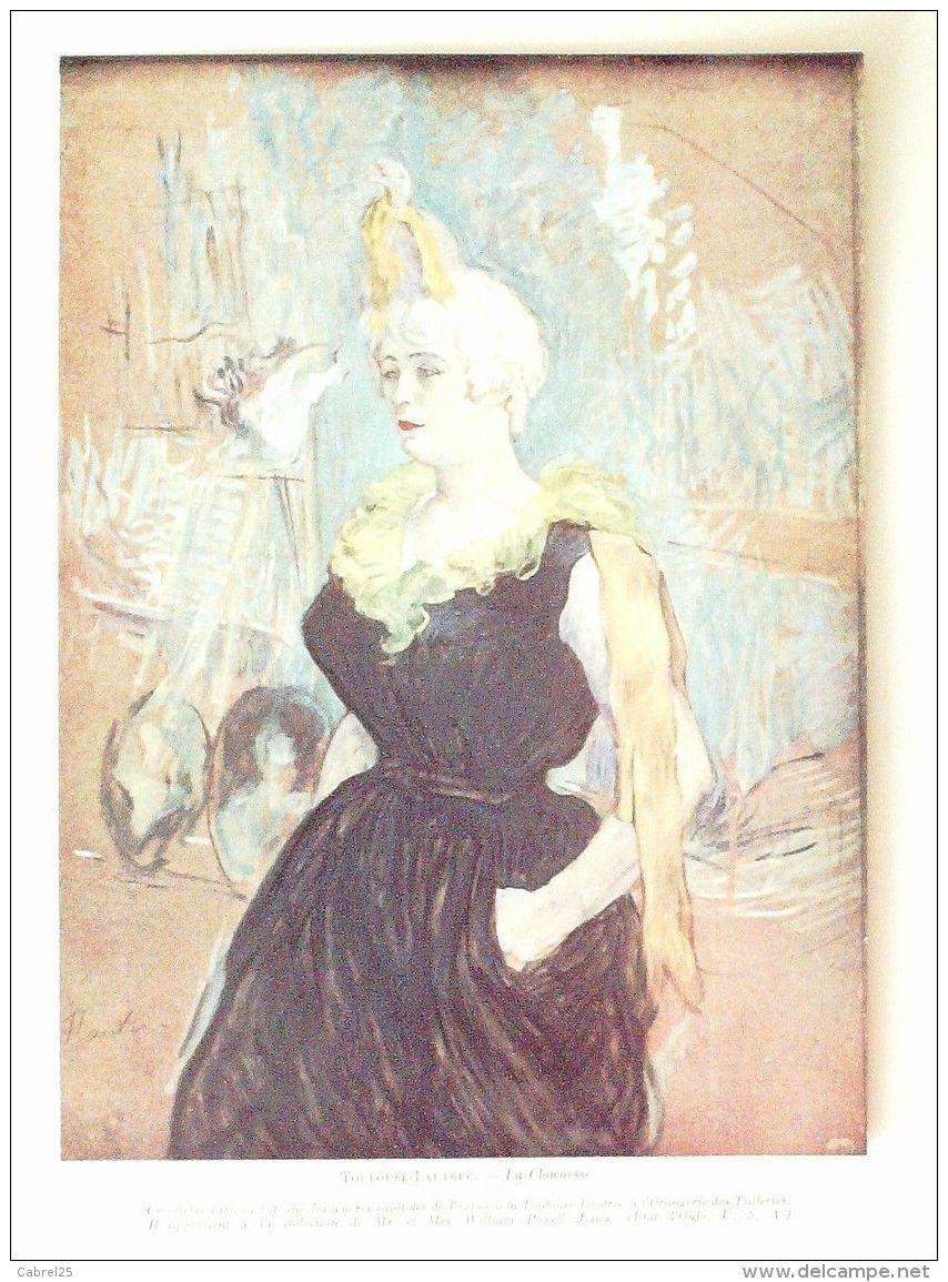 TOULOUSE LAUTREC-LA CLOWNESSE-1935-22x33cm-3652 - Prints & Engravings