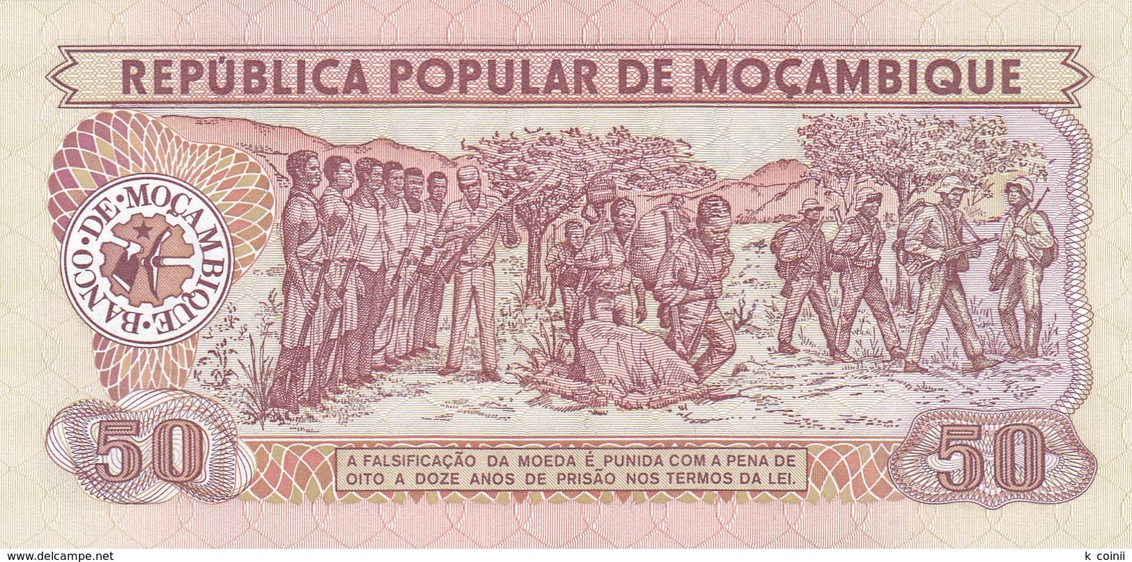 Mozambique - 50 Meticais 16 Jun 1986 - UNC - Mozambique