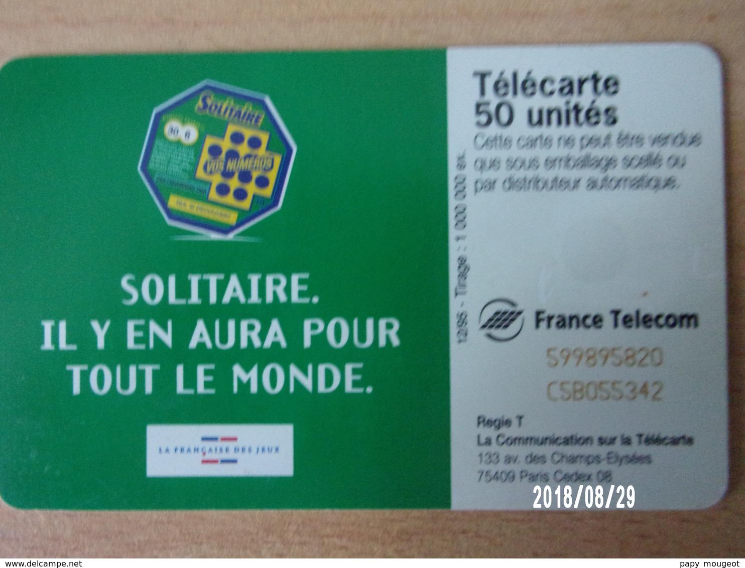 F608 Solitaire 50U SC7 - Jeux