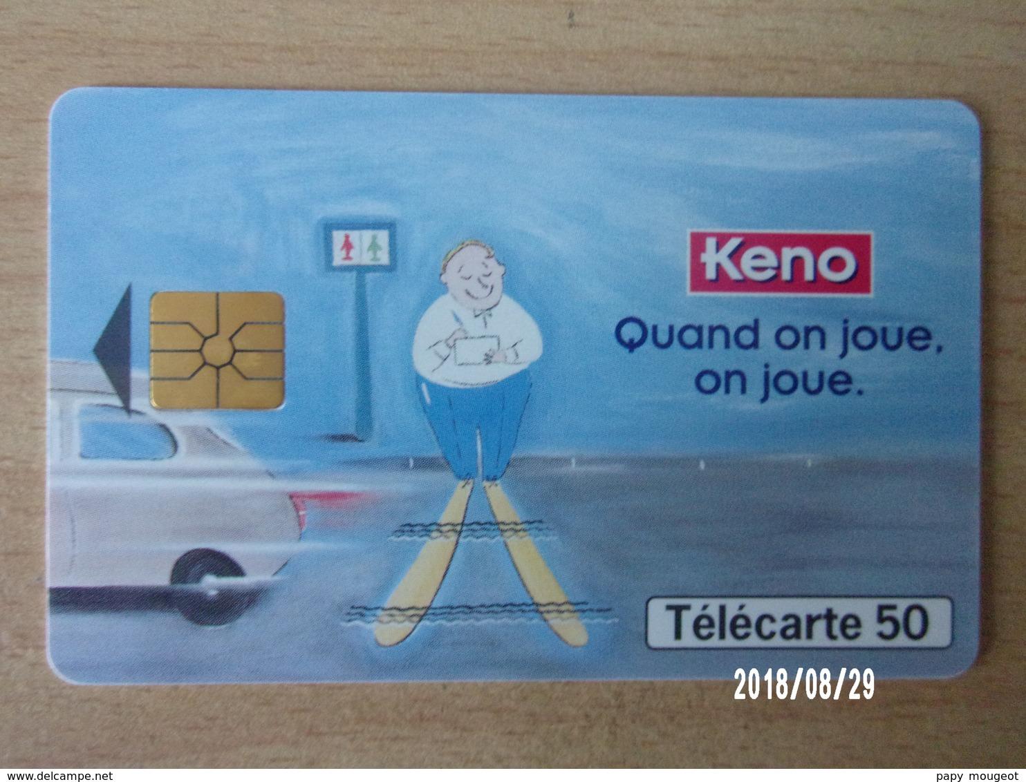 F847 Keno 50U GEM - Jeux