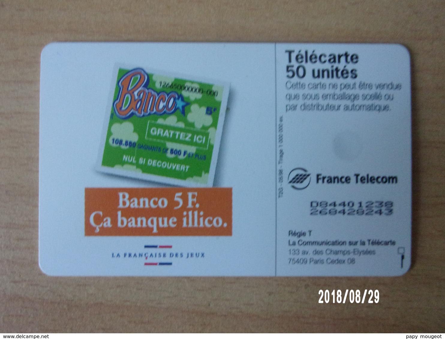 F869 Banco 50U OB - Jeux
