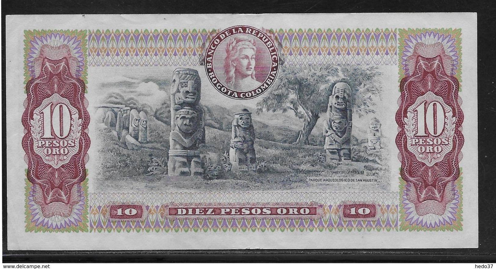 Colombie - 10 Pesos  - Pick N° 407 - TTB - Colombia