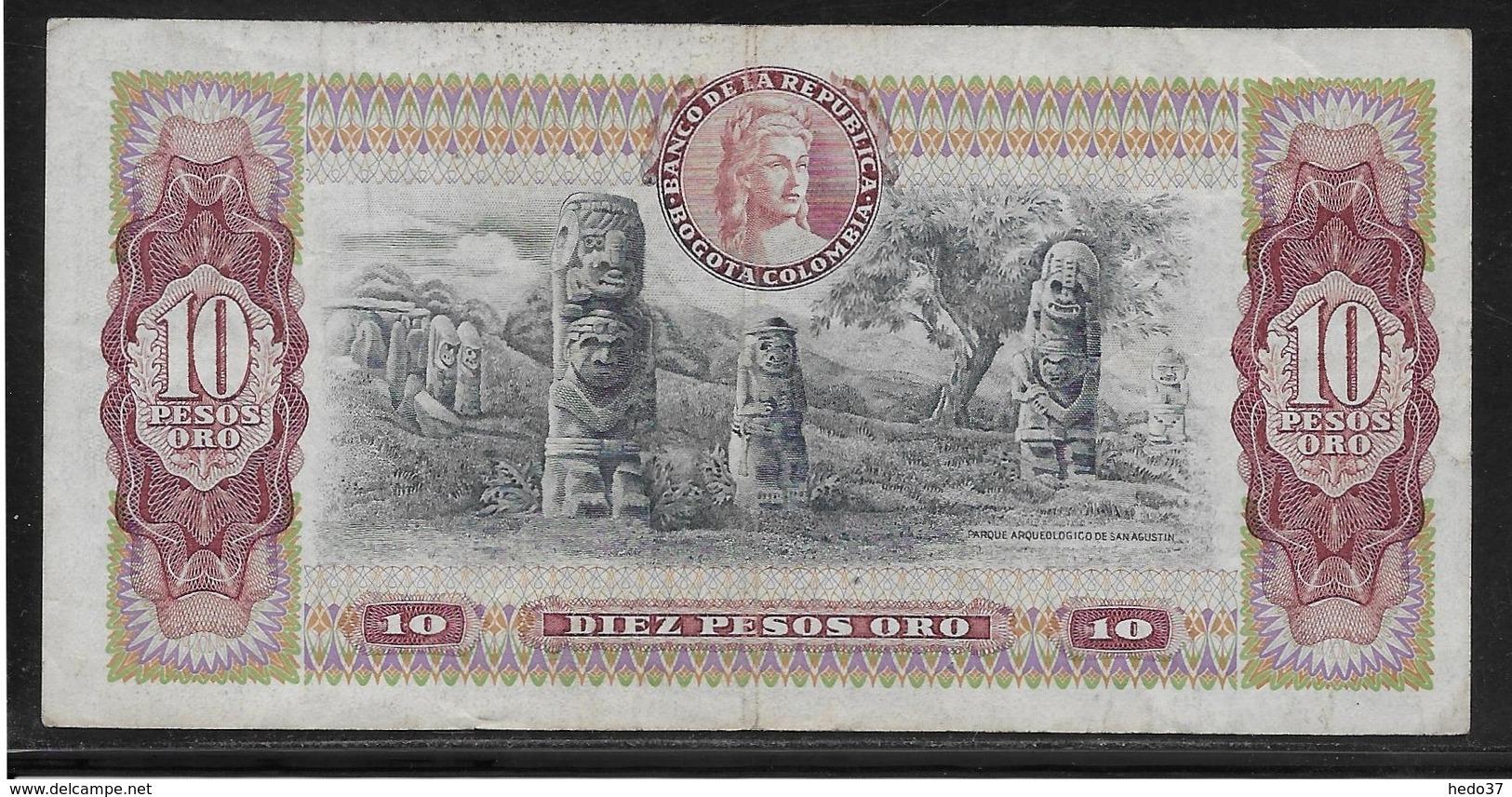 Colombie - 10 Pesos  - Pick N° 407 - TB - Colombia