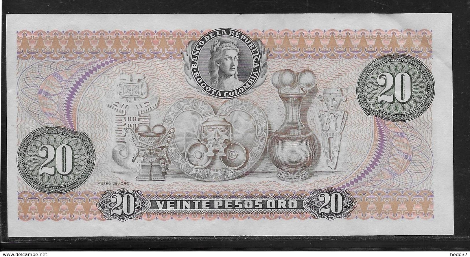 Colombie - 20 Pesos  - Pick N° 409 - SUP - Colombia