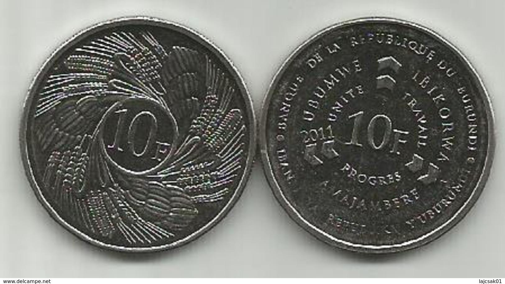 Burundi 10 Francs  2011. High Grade - Burundi