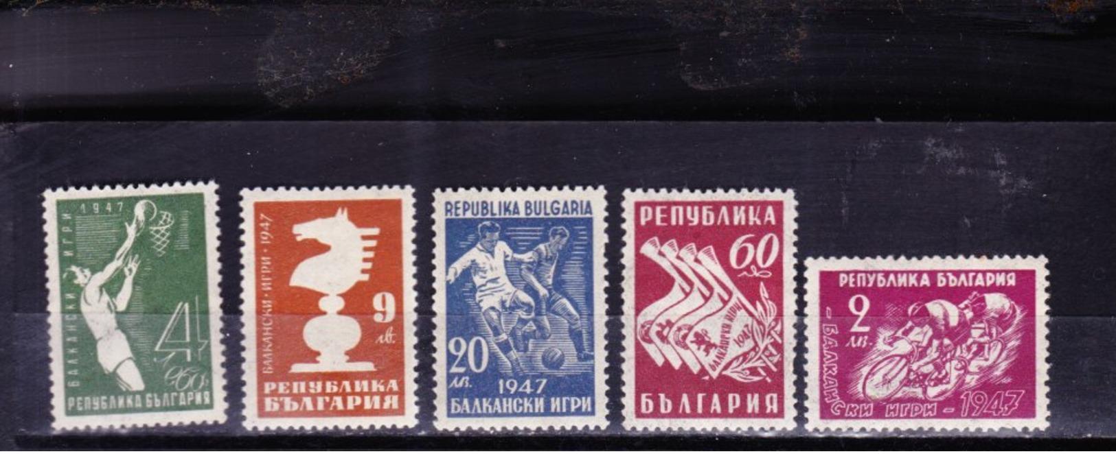 Bulgaria   606 - 610 ** - Bulgaria