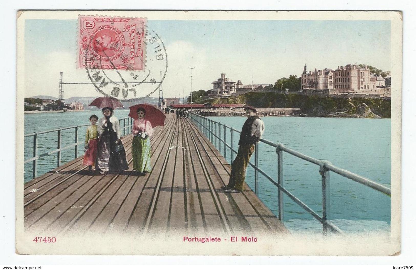 PORTUGALETE (Pays Basque) (Pais Vasco) - El Molo - Espagne