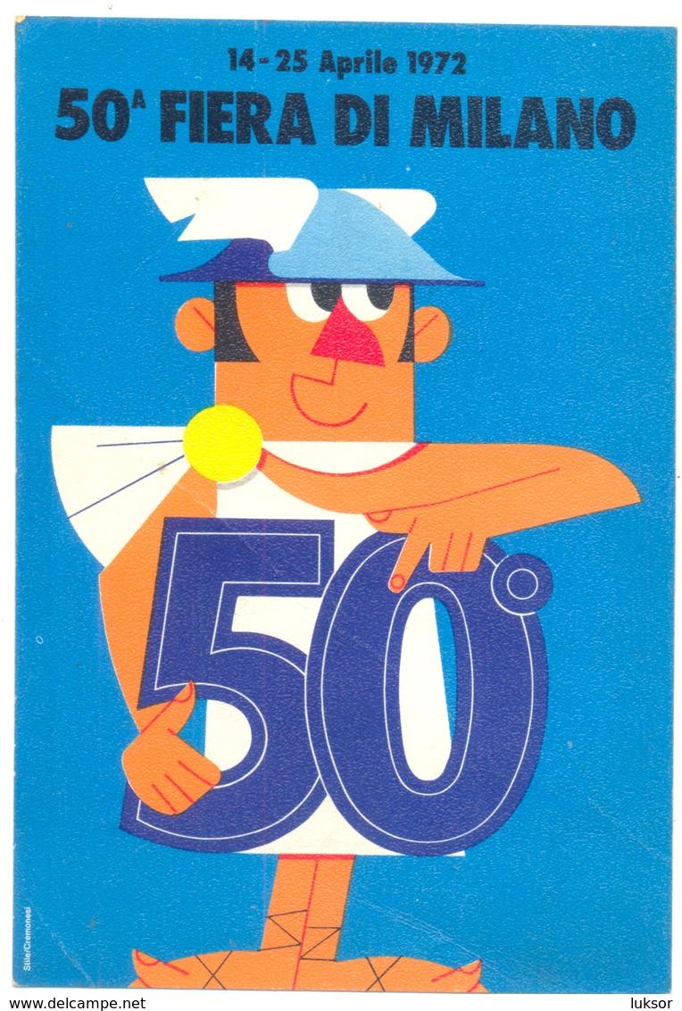50 A FIERA DI MILANO YEAR 1972 - Fiere