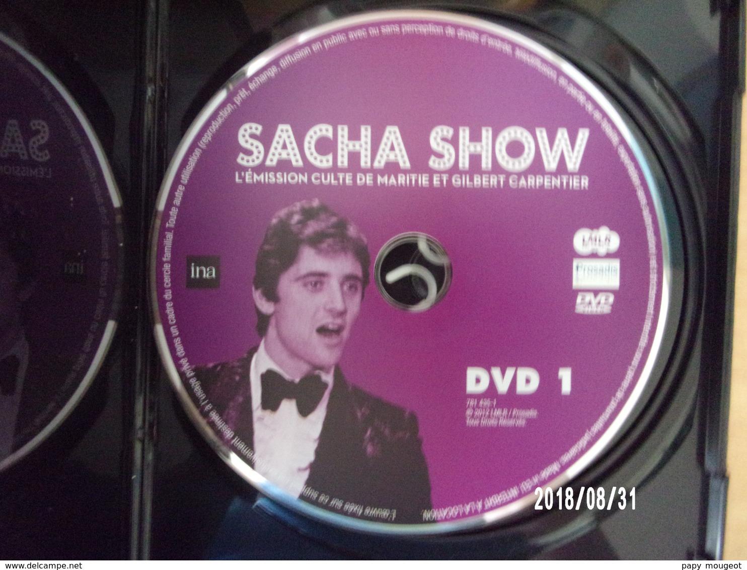 Sacha Show DVD 1 - Musik-DVD's