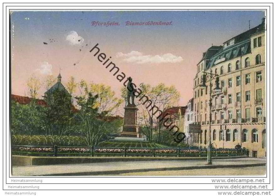 Pforzheim - Bismarckdenkmal - Pforzheim