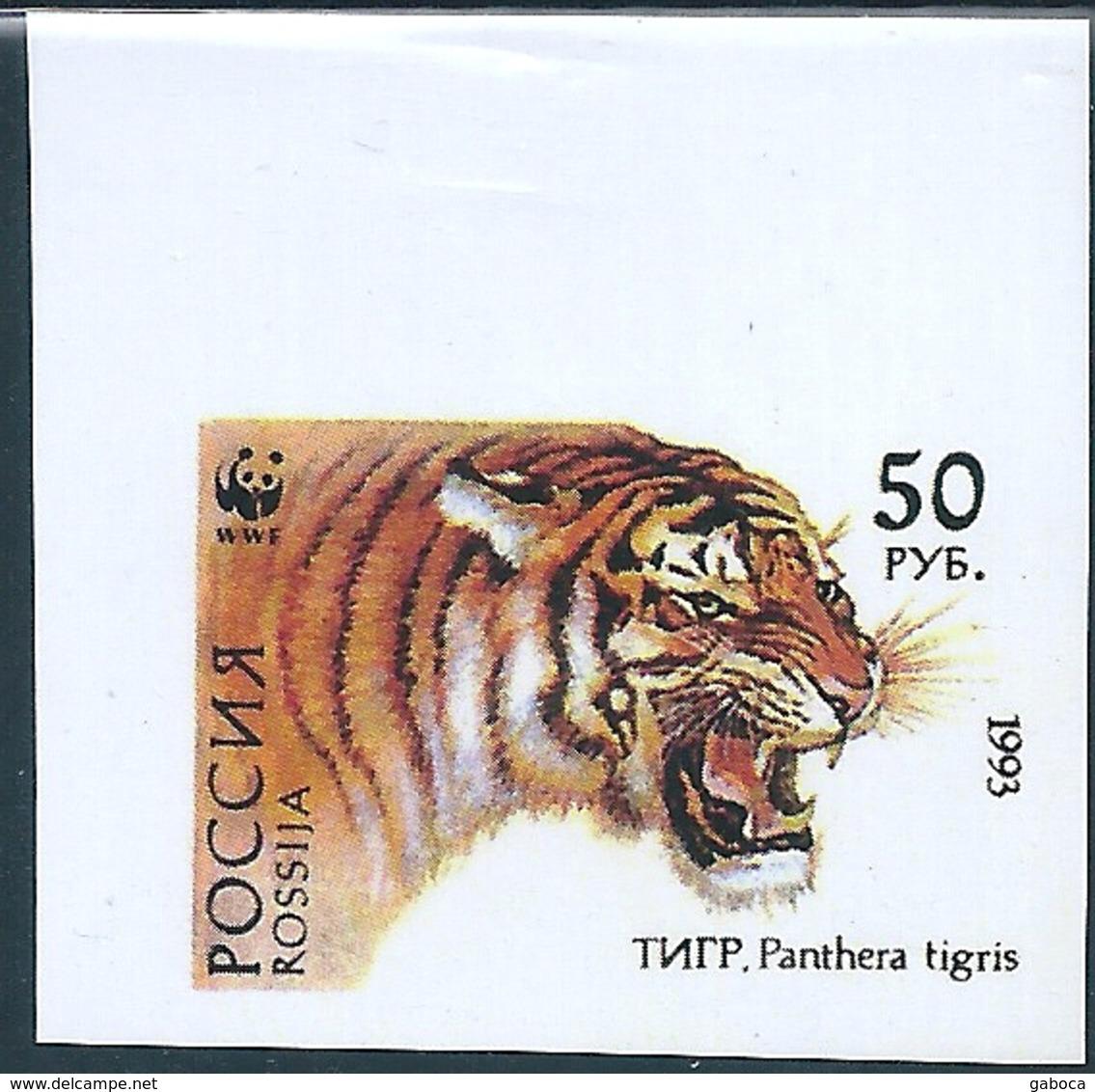 B2143 Russia Rossija Animal Fauna Cat-of-Prey Tiger (50 Rubel) Organization WWF Colour Proof - 1992-.... Federation