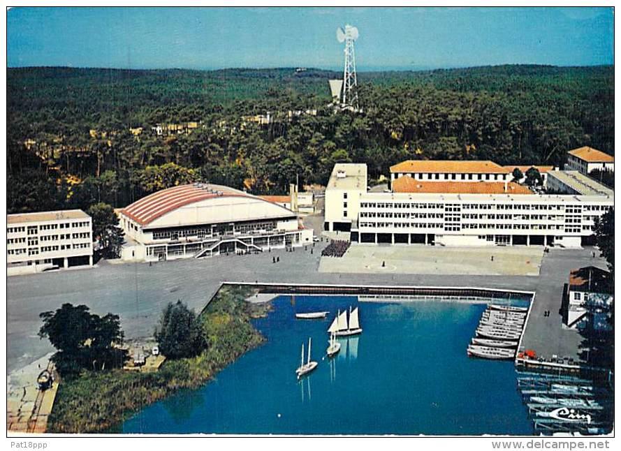 MILITARIA Ecoles - 33 - HOURTIN : Centre De Formation Maritime - Vue Générale - CPSM CPM GF - Saône Et Loire - Militaria