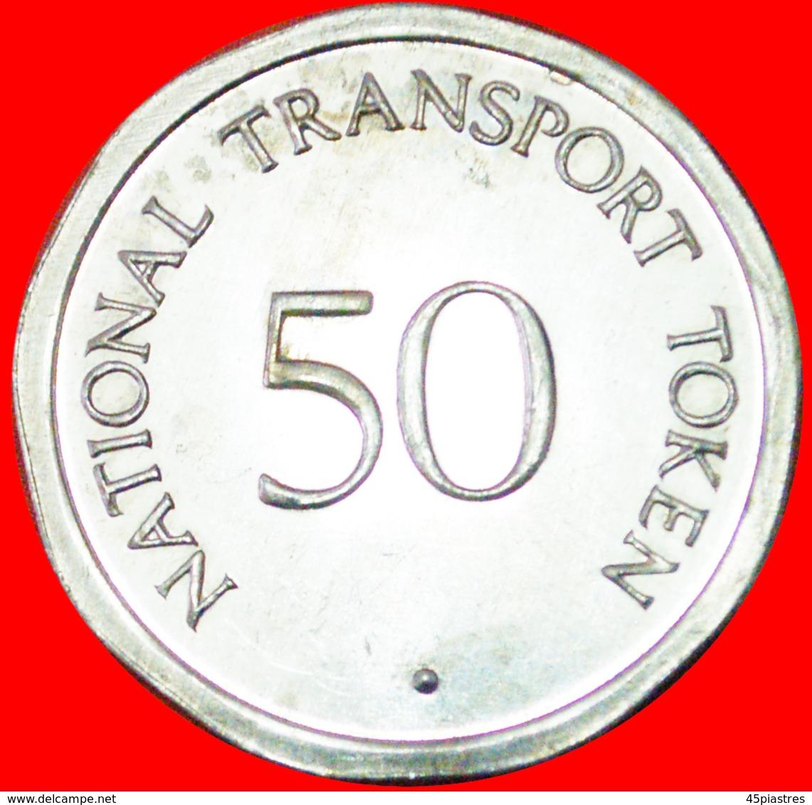# YORK MINSTER: GREAT BRITAIN ★ 50 PENCE NATIONAL TRANSPORT TOKEN MINT LUSTER! LOW START ★ NO RESERVE! - Professionnels/De Société