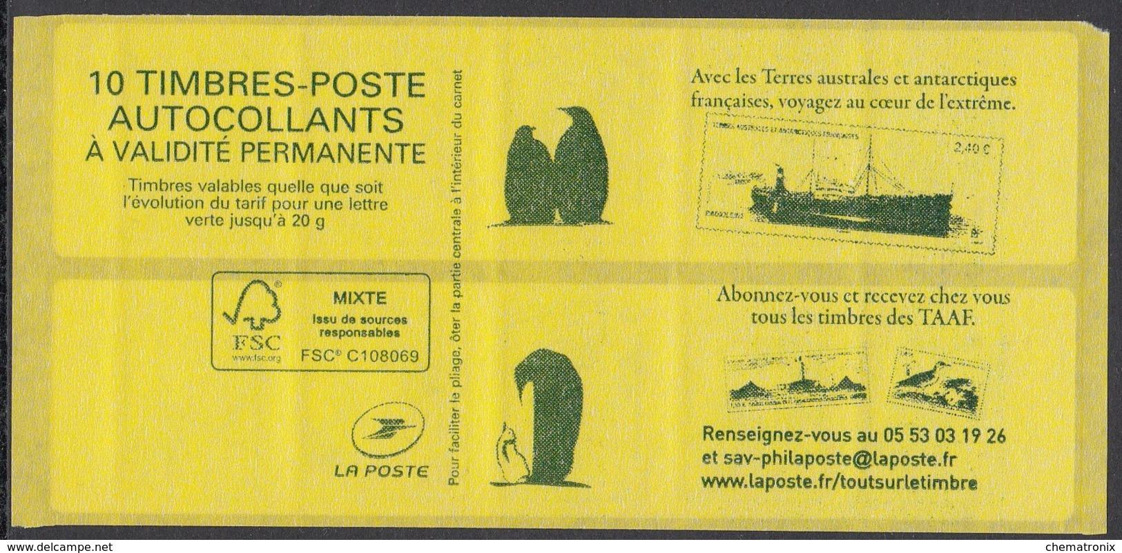 "France - Carnet Marianne Ciappa-Kawena ""Lettre Verte"" --- MNH** - Markenheftchen"