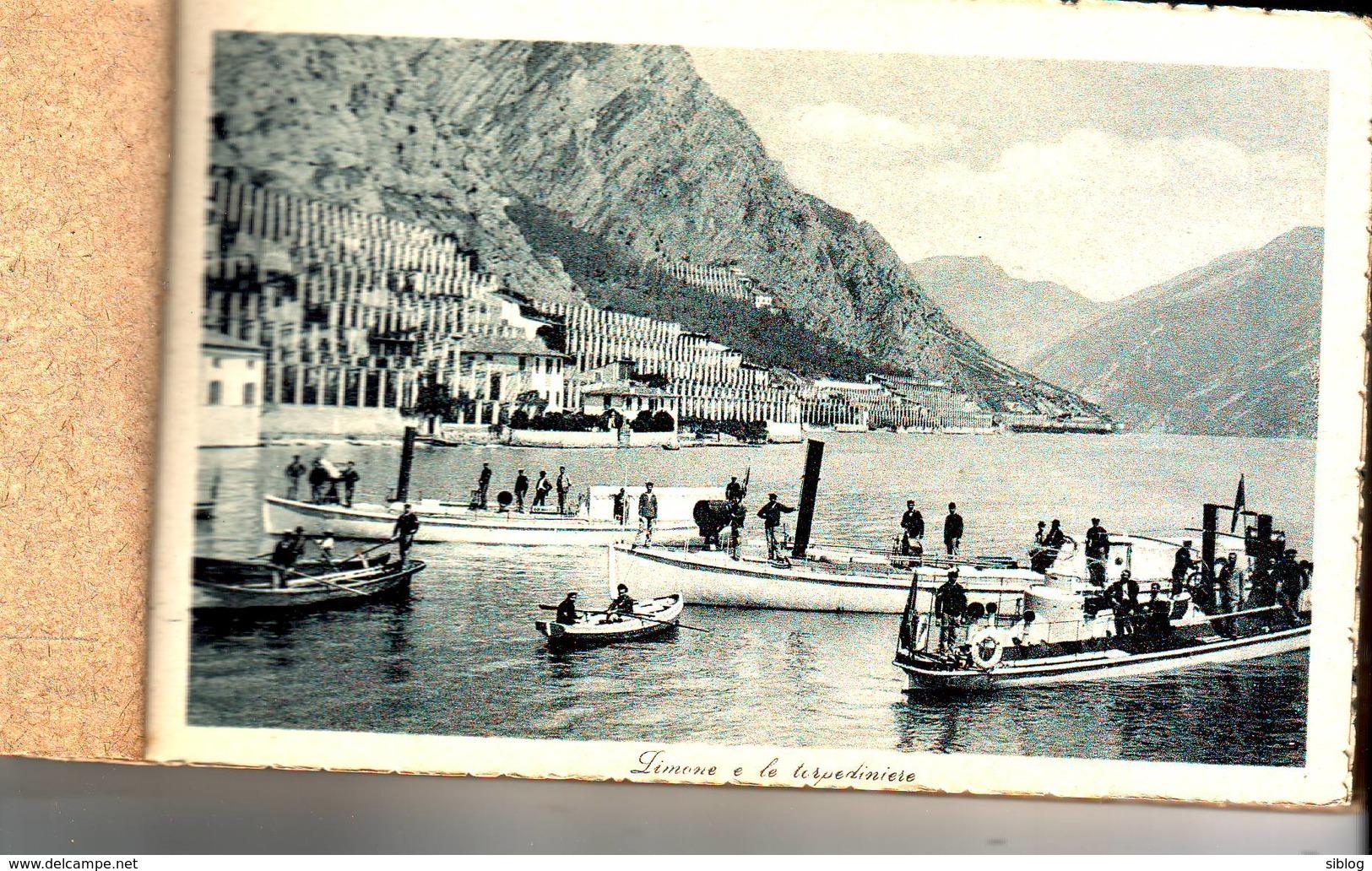 Carnet De 18 Cp - LAGO DI GARDA - Italia