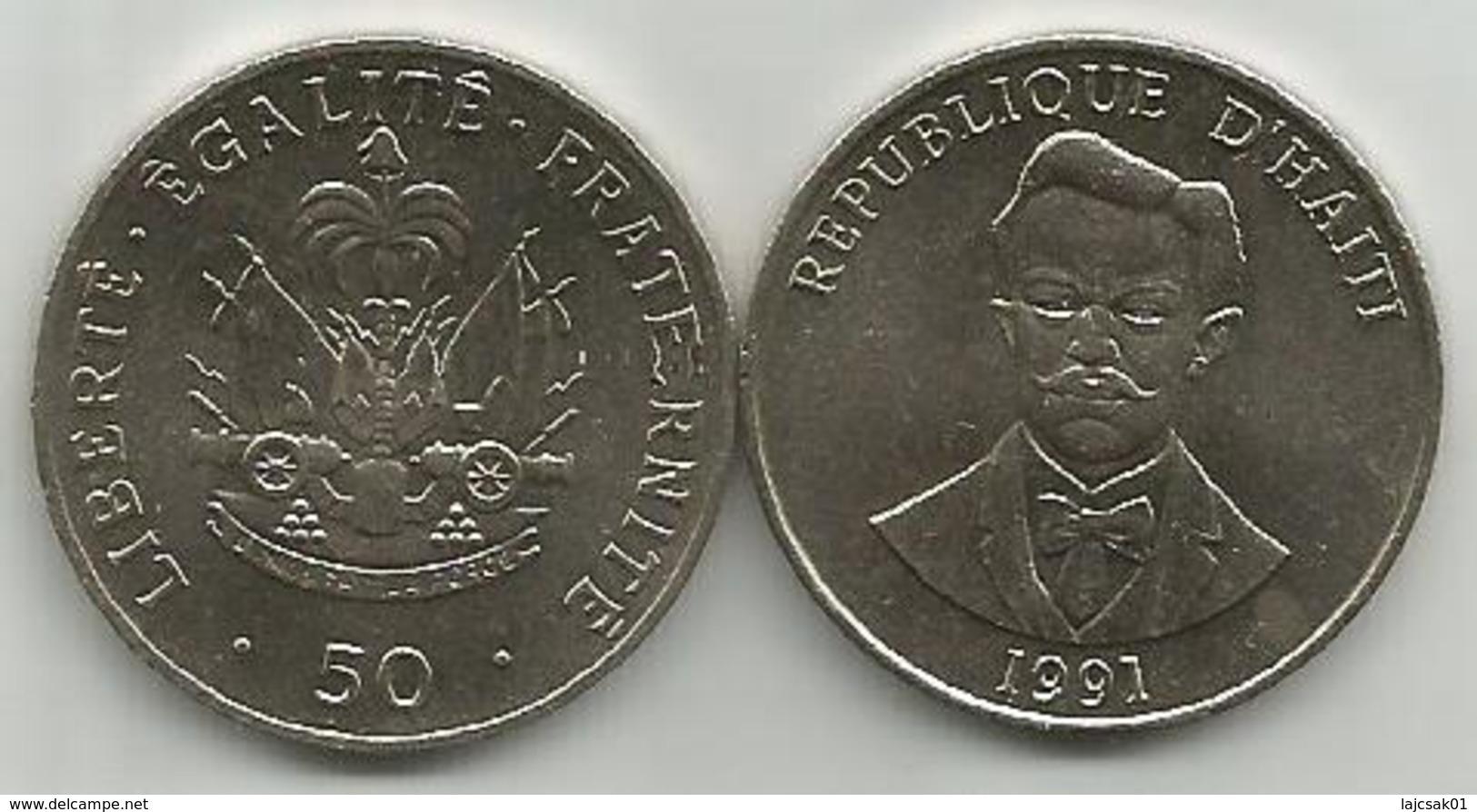 Haiti 50 Centimes 1991. High Grade - Haïti