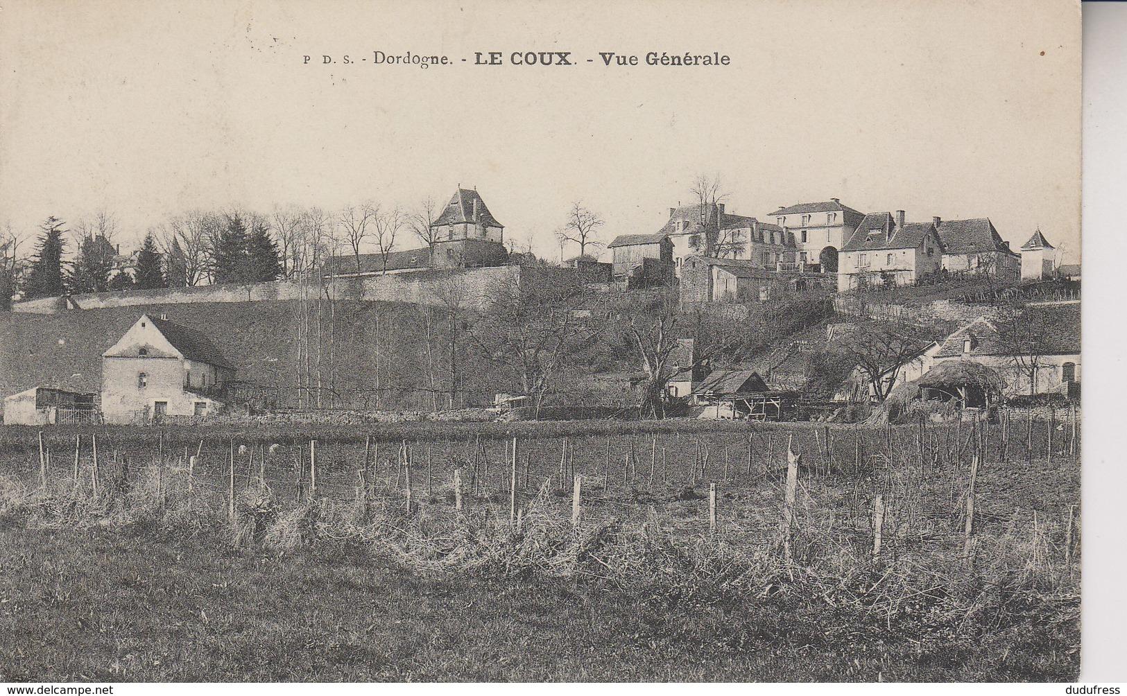 LE COUX   VUE GENERALE - Frankreich