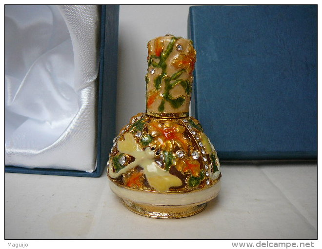 """FLACON/VAPO  VIDE :  SUPERBE ! A REMPLIR DE VOTRE PARFUM PREFERE  LIRE ET  VOIR"""" - Miniatures Womens' Fragrances (in Box)"""